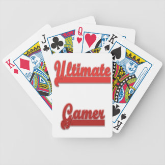 Ultimate gamer bicycle playing cards