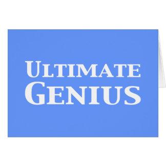 Ultimate Genius Gifts Greeting Card