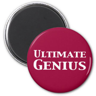Ultimate Genius Gifts Magnet