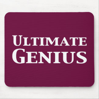 Ultimate Genius Gifts Mouse Pad