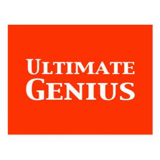 Ultimate Genius Gifts Postcard