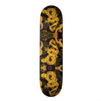 Ultimate Gold Dragon Element Custom Pro Park Board