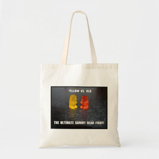 Ultimate Gummy Bear Fight Budget Tote Bag