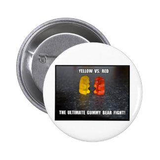 Ultimate Gummy Bear Fight Pin