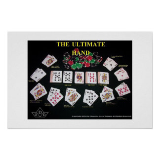 ultimate hand / bad beat poster