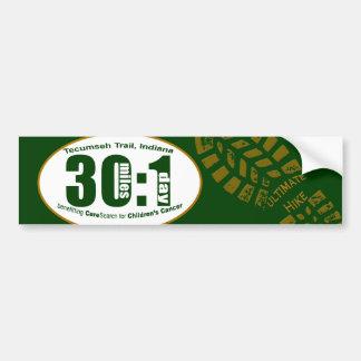 Ultimate Hike Bumper Sticker