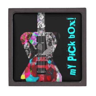 Ultimate keepsake box for your rockers picks! premium gift boxes