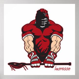 Ultimate Lacrosse Poster