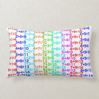 Ultimate Math Addition Multiplication Table Pillow