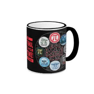 Ultimate Memorial for Epic Pi Day Ringer Coffee Mug