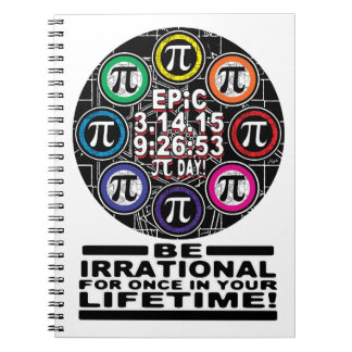 Ultimate Memorial for Epic Pi Day Symbols Notebook