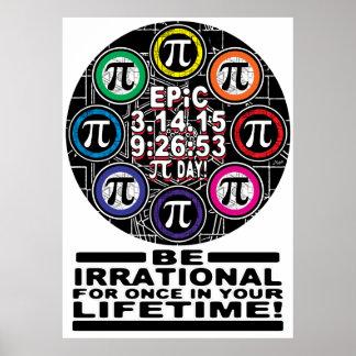 Ultimate Memorial for Epic Pi Day Symbols Poster