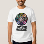 Ultimate Memorial for Epic Pi Day Symbols T Shirt