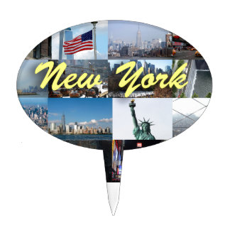 Ultimate! New York City Pro Photos Cake Topper