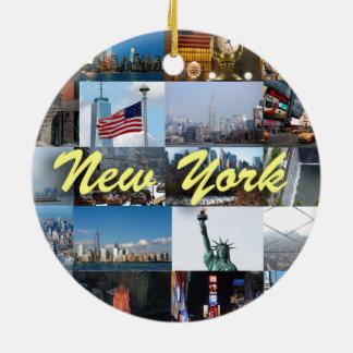 Ultimate! New York City Pro Photos Ceramic Ornament