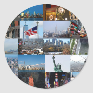 Ultimate! New York City Pro Photos Classic Round Sticker