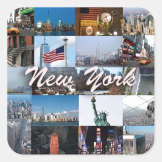 Ultimate! New York City Pro Photos Square Sticker
