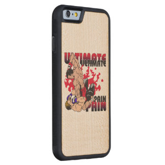 Ultimate Pain Fighters Carved Maple iPhone 6 Bumper Case