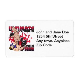 Ultimate Pain Fighters Label