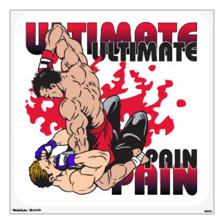 Ultimate Pain Fighters Wall Sticker