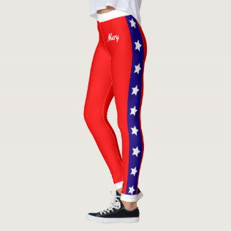 Ultimate Patriot USA Stars and Stripes Leggings