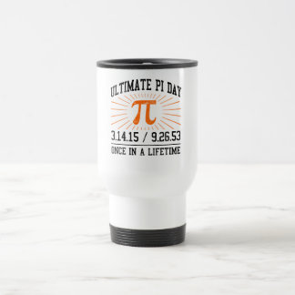 Ultimate Pi Day 2015 15 Oz Stainless Steel Travel Mug