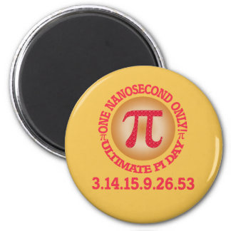 Ultimate Pi Day 2015 2 Inch Round Magnet
