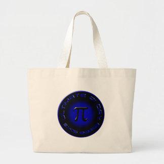Ultimate Pi Day 2015 3.14.15 9:26:53 (blue) Jumbo Tote Bag