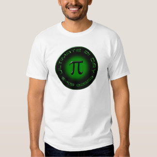 Ultimate Pi Day 2015 3.14.15 9:26:53 (green) Tees