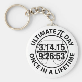 Ultimate Pi Day 2015 Basic Round Button Keychain