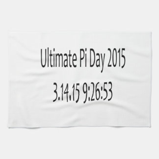 Ultimate Pi Day 2015 Image Hand Towels