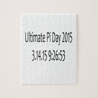 Ultimate Pi Day 2015 Image Jigsaw Puzzle