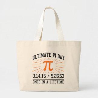 Ultimate Pi Day 2015 Large Tote Bag
