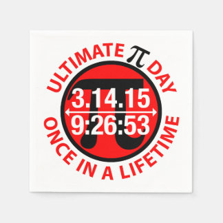 Ultimate Pi Day 2015 Paper Napkin