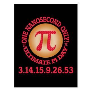 Ultimate Pi Day 2015 Postcard