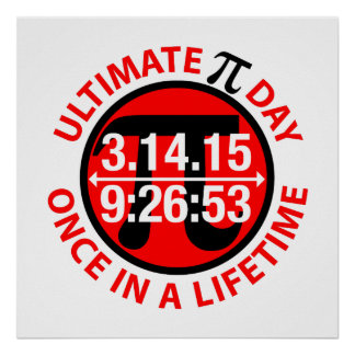 Ultimate Pi Day 2015 Poster