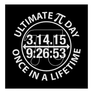 Ultimate Pi Day 2015 Posters