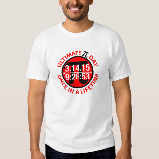 Ultimate Pi Day 2015 Tee Shirt