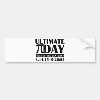 Ultimate Pi Day Bumper Sticker