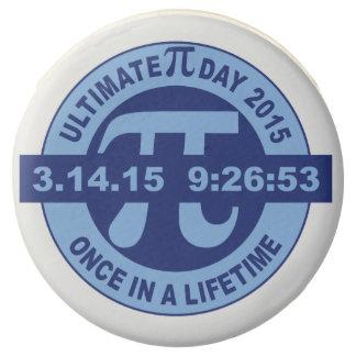 Ultimate Pi day chocolate oreo 3.14.15 9:26:53 Chocolate Covered Oreo