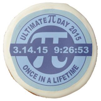 Ultimate Pi day cookie 2015 3.14.15 9:26:53 Sugar Cookie