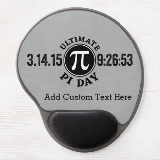 Ultimate Pi Day March 14 2015 Gel Mousepad