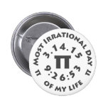 Ultimate Pi Day March 14, 2015 Pinback Button
