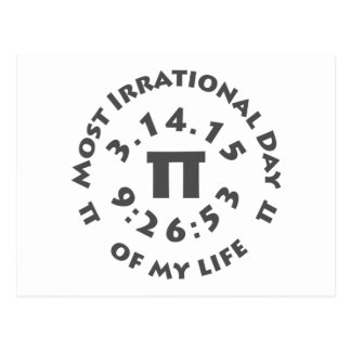 Ultimate Pi Day March 14, 2015 Postcard