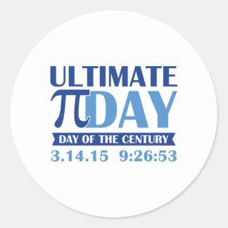 Ultimate Pi Day Classic Round Sticker