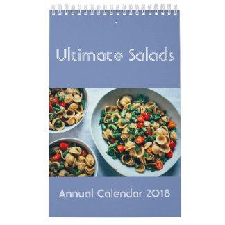 Ultimate Salads Calendar 2018