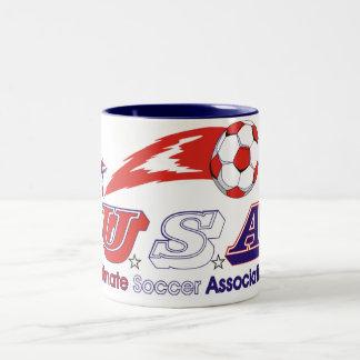 Ultimate Soccer Association Two-Tone Coffee Mug