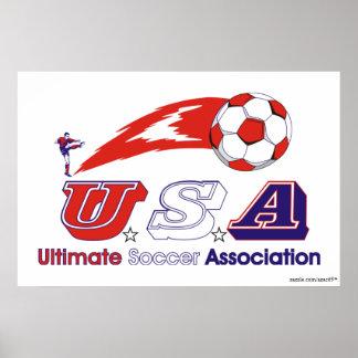 Ultimate Soccer Association Poster