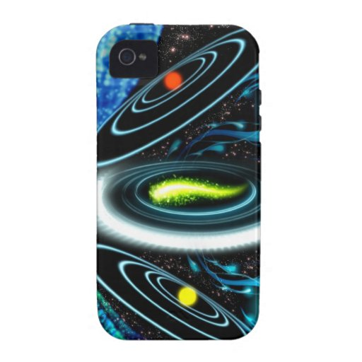 Ultimate Space Frisbee iPhone 4 Cover