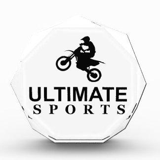 ULTIMATE SPORTS (dirt bikes) Acrylic Award